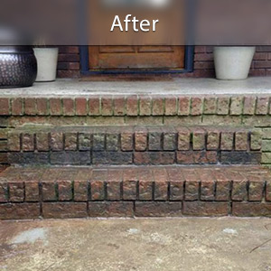 Sinking stairs repaired with PolyLevel® Salt Lake City