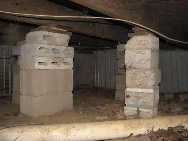 Sagging Crawl Space Repair In Salt Lake City West Valley