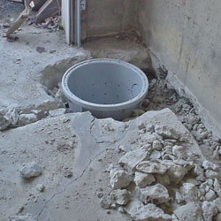 Placing a sump pit in a Riverton home
