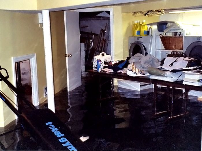Basements Flooding From Plumbing Failures In Salt Lake