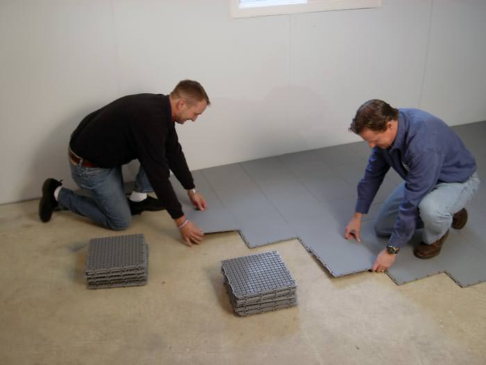 nine steps to take before finishing your basement in greater salt rh davenportfoundationrepair com how to finish a basement floor with a drain how to finish a basement floor with moisture