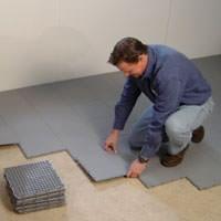 Elegant Installing A Waterproof Basement Sub Floor In Colerain