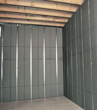 Thermal insulation panels for basement finishing in Park City, Utah